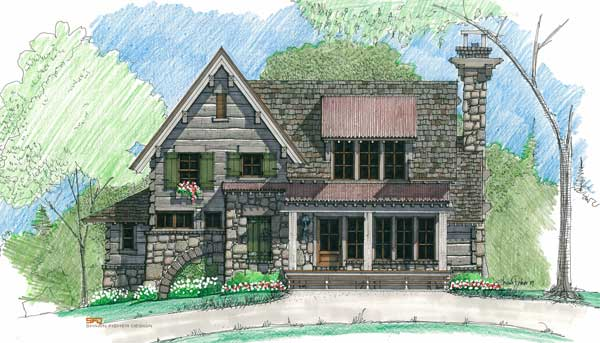 Mulberry mill home plan by natural element homes for Mullberry home