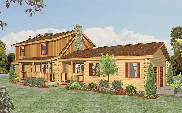 Charleston Home Plan By Lincoln Logs International