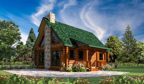Blue Stone Home Plan By Golden Eagle Log Homes