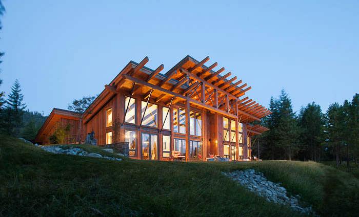 mountain modern a contemporary timber home