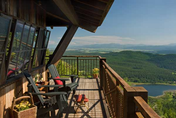 10 inspirational outdoor spaces for Lookout tower house