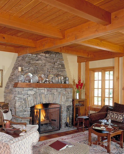 Hawk Mountain Timber Frame House Plan By Timberpeg