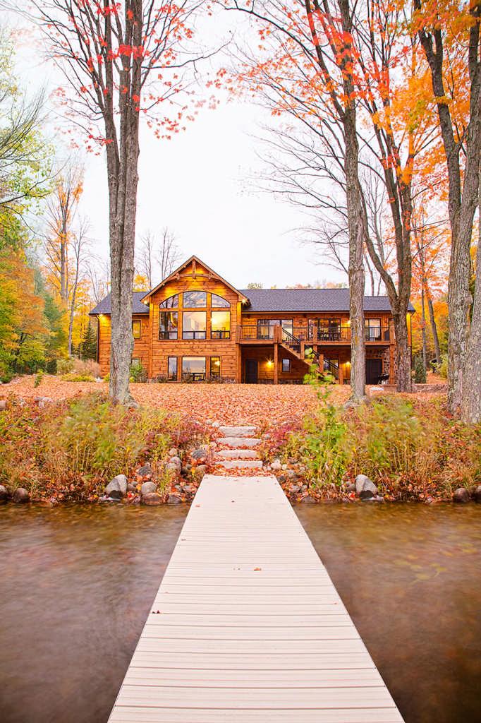 Waters Edge Log Home Floor Plan By Wisconsin Log Homes