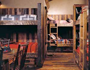Heidi Long bunk room