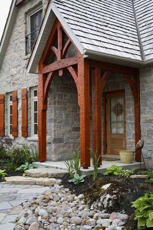 French Timber Frame Exterior