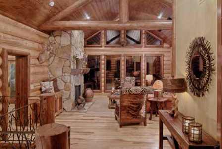 Unique log home dream log homes designer most widely for Www loghome com