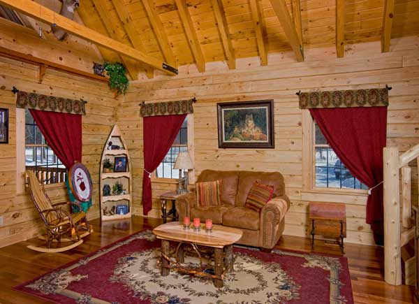 The Formal Living Room ...