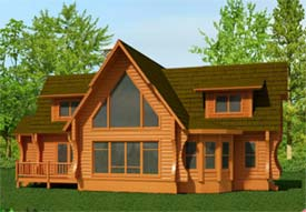Small Homes Design Contest The Tahoe By Strongwood Log Home