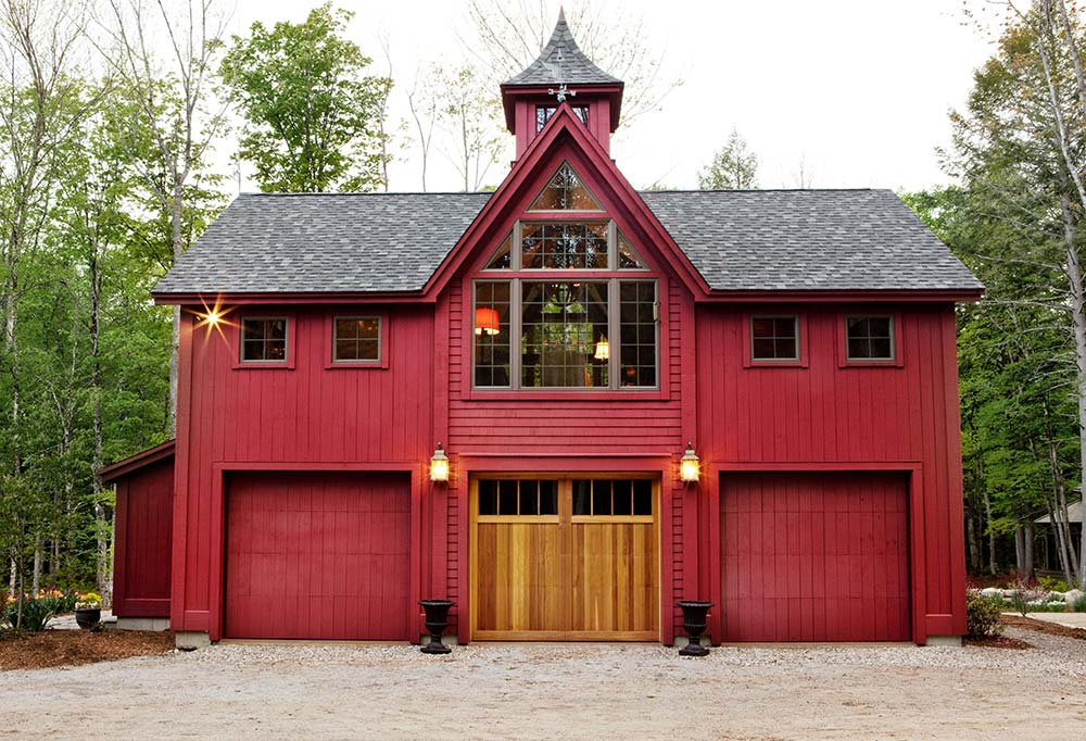 Victorian Vision: Timber Frame Carriage House