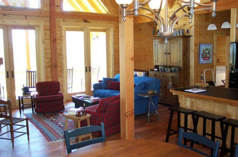Lewis Log Home Floor Plan By Log Homes Of America