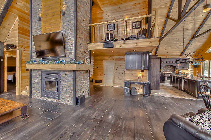 The Dakota Log Home Floor Plan By Timber Block Log Homes