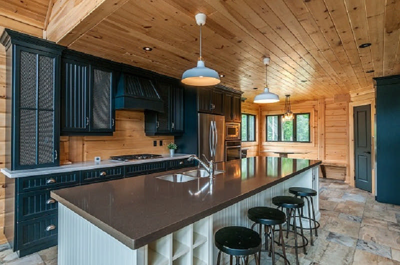 Labrador Log Home Floor Plan By Timber Block Log Homes