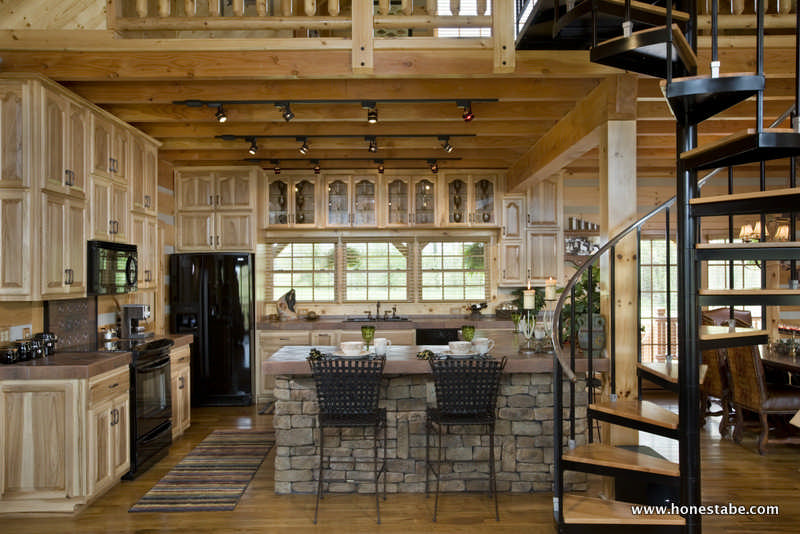 Paris Vacation Log Cabin by Honest Abe Log Homes, Inc. on townhouse kitchens, income property kitchens, lodge kitchens, colonial home kitchens, prairie style home kitchens, log home kitchens, apartment kitchens, studio kitchens, professional home kitchens, camping kitchens, holiday kitchens, spanish style home kitchens, summer home kitchens, residential kitchens, copper ceiling kitchens, lake home kitchens, luxury home kitchens, timber home kitchens, house home kitchens, split level home kitchens,