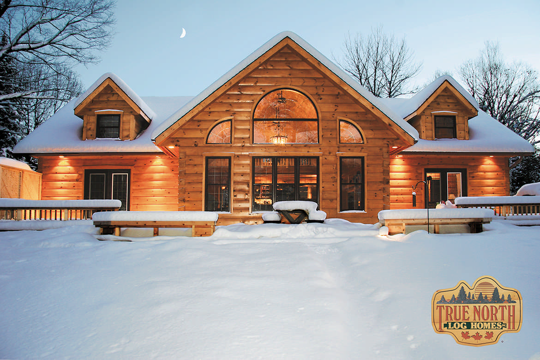Aspen vii log home plan by true north log homes for Aspen house plans