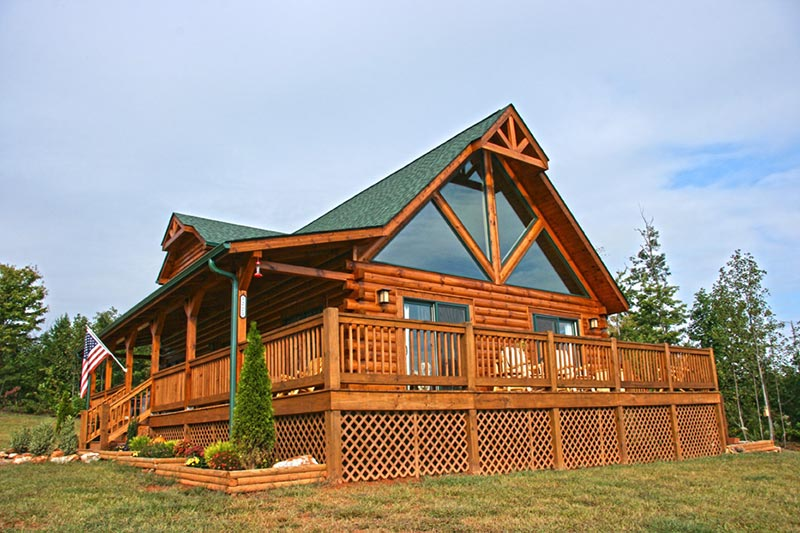 The Highlander Log Home By Honest Abe Log Homes Inc