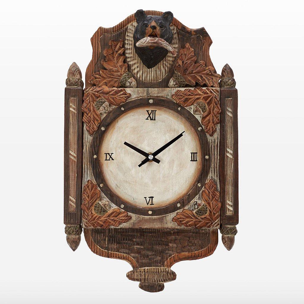 atmosphere-leisure-bear-wall-clock