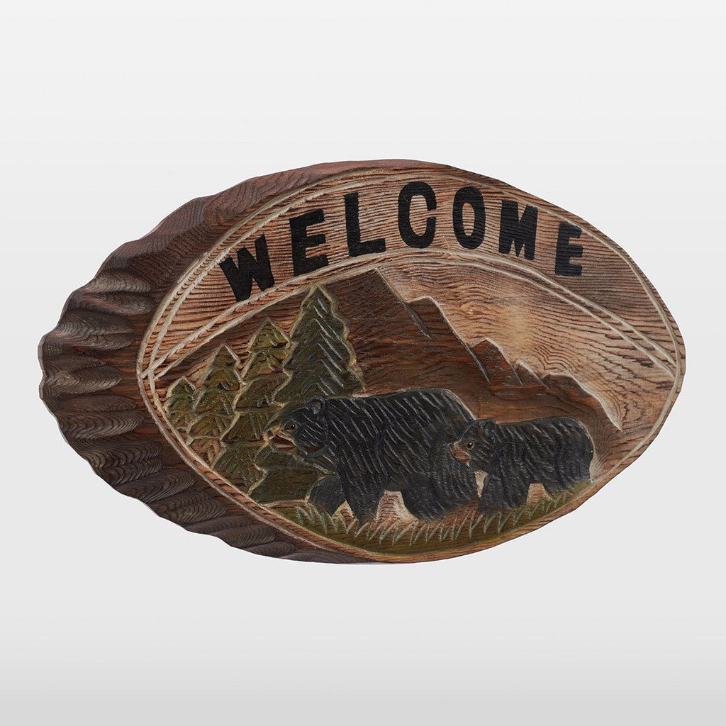 atmosphere-leisure-black-bear-welcome-sign