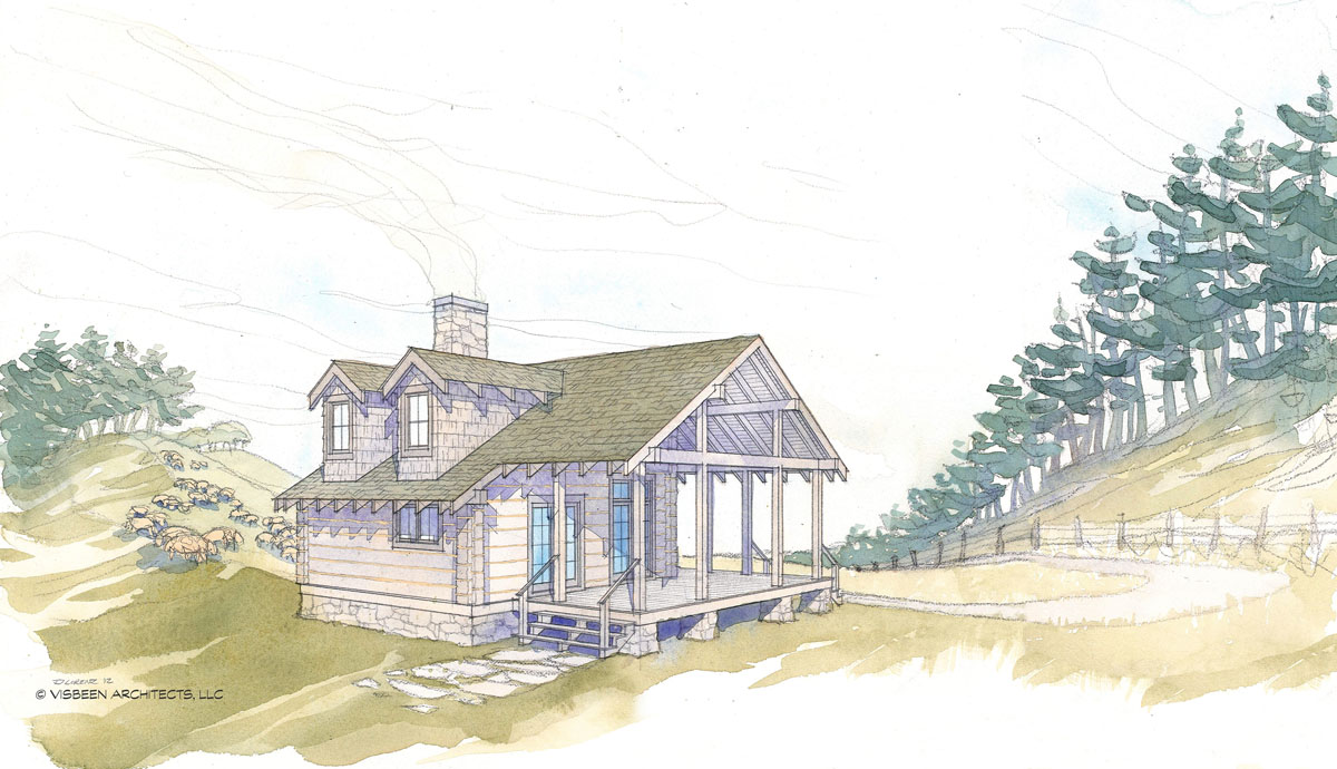 Home Plans For A Dogtrot Log Cabin