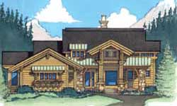 Timber Frame House Plans Blue Ox Timber Frames Elevation