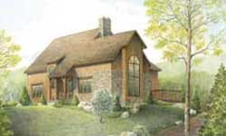 Timber Frame House Plans Blue Ridge Timberwrights Elevation