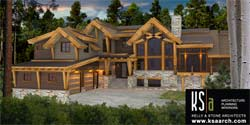 Timber Frame House Plans Canadian Timberframes Elevation