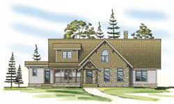 Timber Frame House Plans Hamill Creek Timber Homes Elevation
