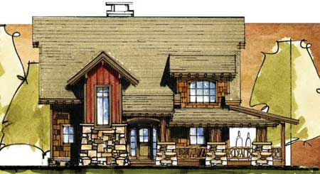Barn Owl House Plan: Barn House Plans