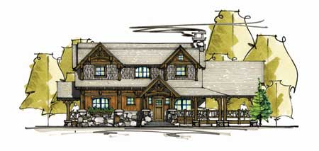 Mosscreek designs the mt olive timber home living for Moss creek house plans