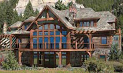Timber Frame House Plans PrecisionCraft Log & Timber Homes Elevation