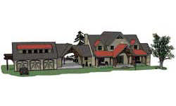 Timber Frame House Plans Sun Styles Timber Framing Elevation