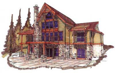 Timber Frame Homes | Timber Frame House | PrecisionCraft Timber