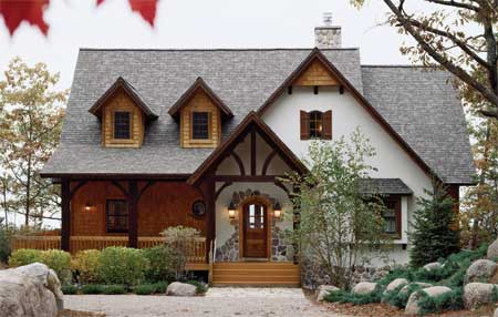 Country House Plans at Dream Home Source | Country Farm Cottage