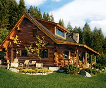8 tips to building a low cost log cabin for Tips for building a house on a budget