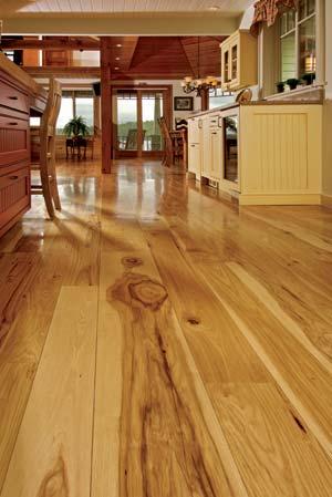 Wide Plank Hickory Floor1