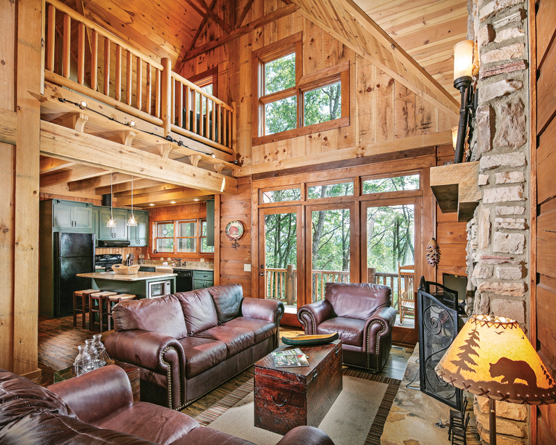 How to Customize a Small Log Cabin