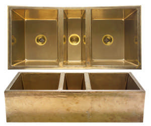 Bronze Sink by Rocky Mountain Hardware