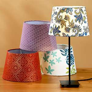 Quick change lampshades to transform your decor aloadofball Choice Image