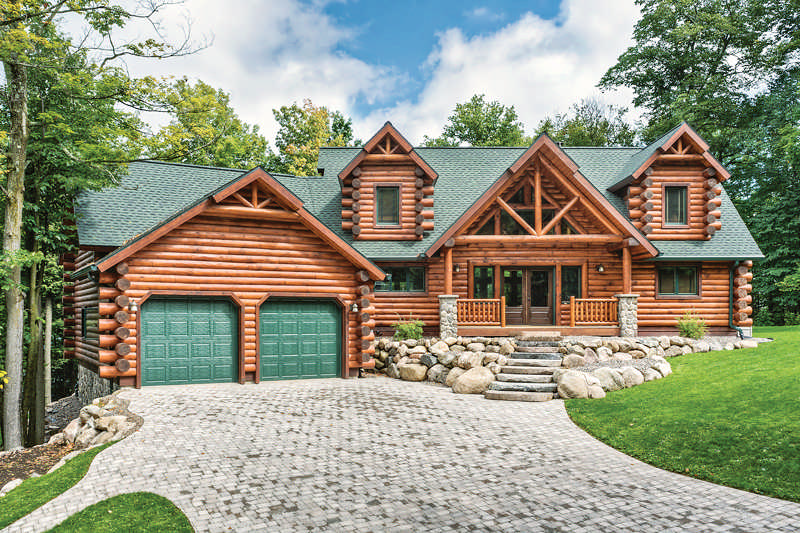 Just As Many Log Homes Come To Be The Beaver Creek By Tomahawk Country Is Result Of Taking Ideas From Other Existing Floor Plans