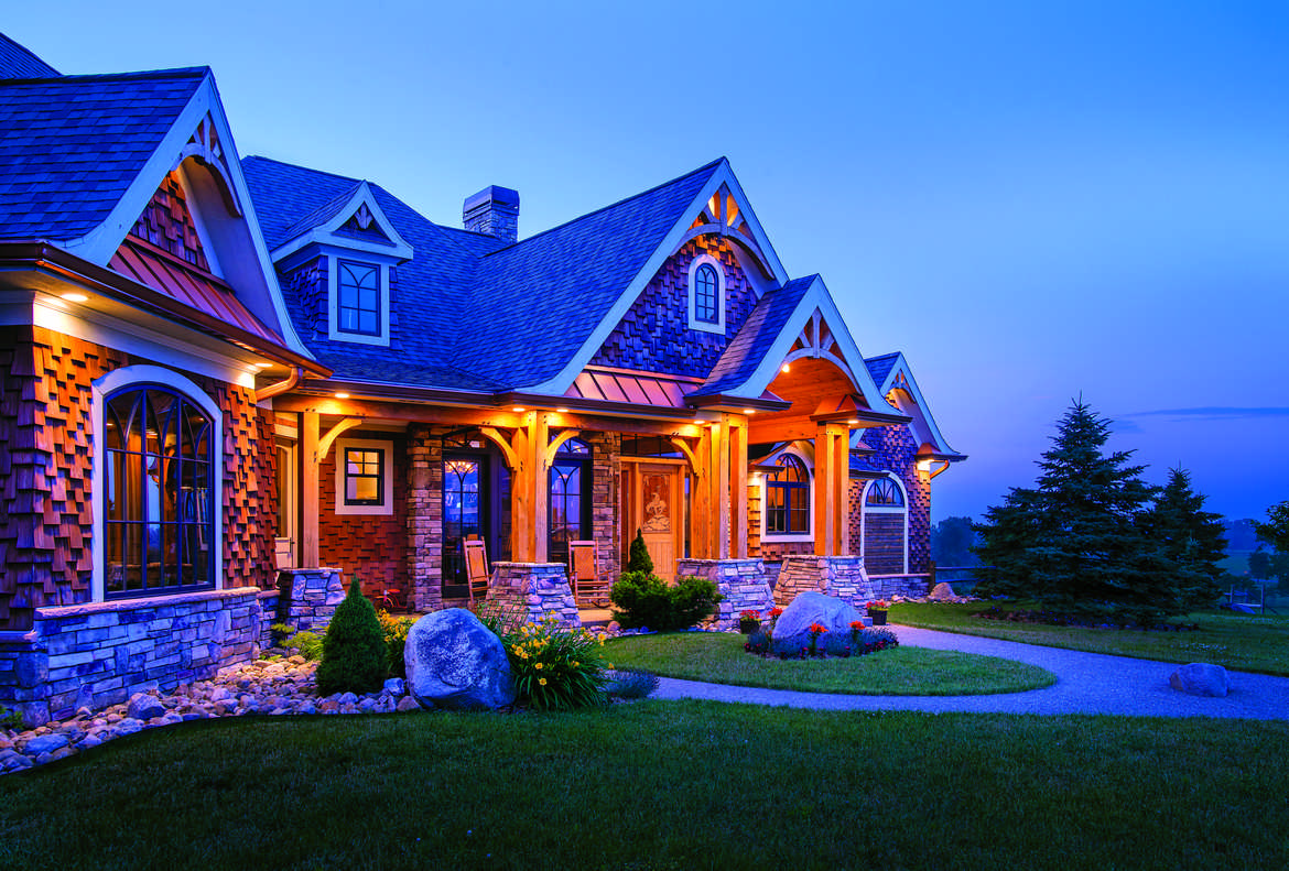 Timber Frame Houses Are Versatile And Because You Can Use Any Exterior Material On A Look Good In Setting