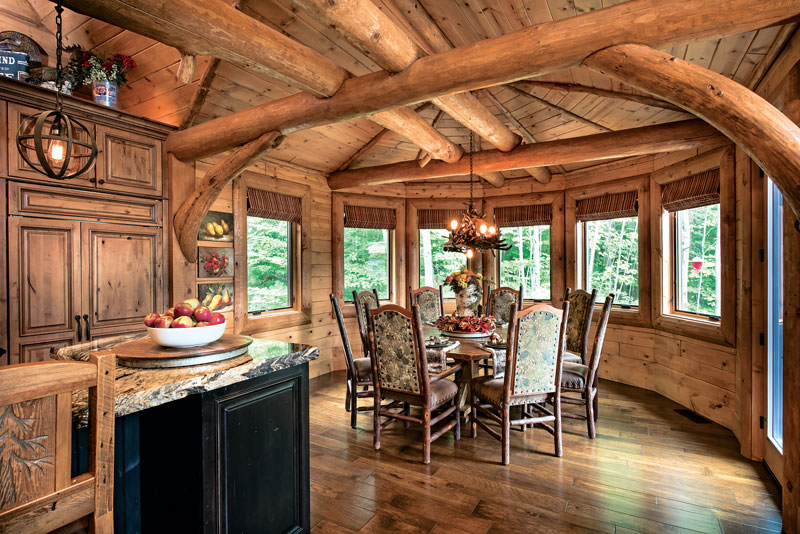 Choosing Windows For Your Log Home