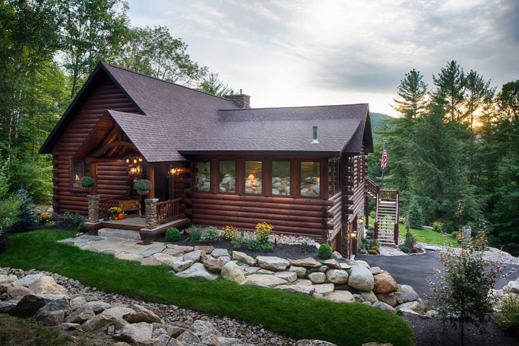 Visiting model homes is one crucial step to prepare for log home construction.