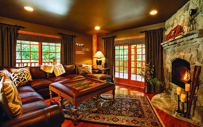 log home renovation in Oregon
