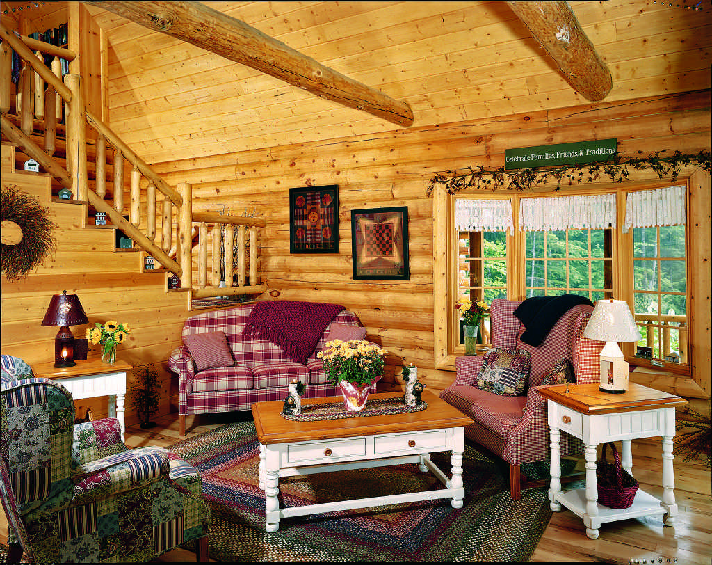 country log home furnishings