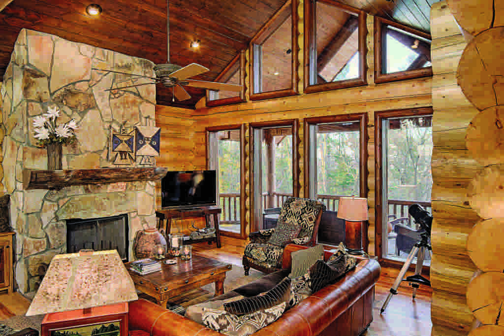 western log home furnishings