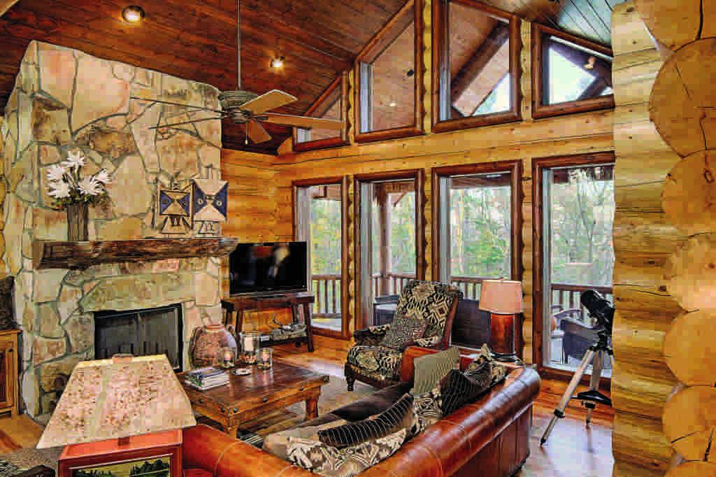 western log home furnishings