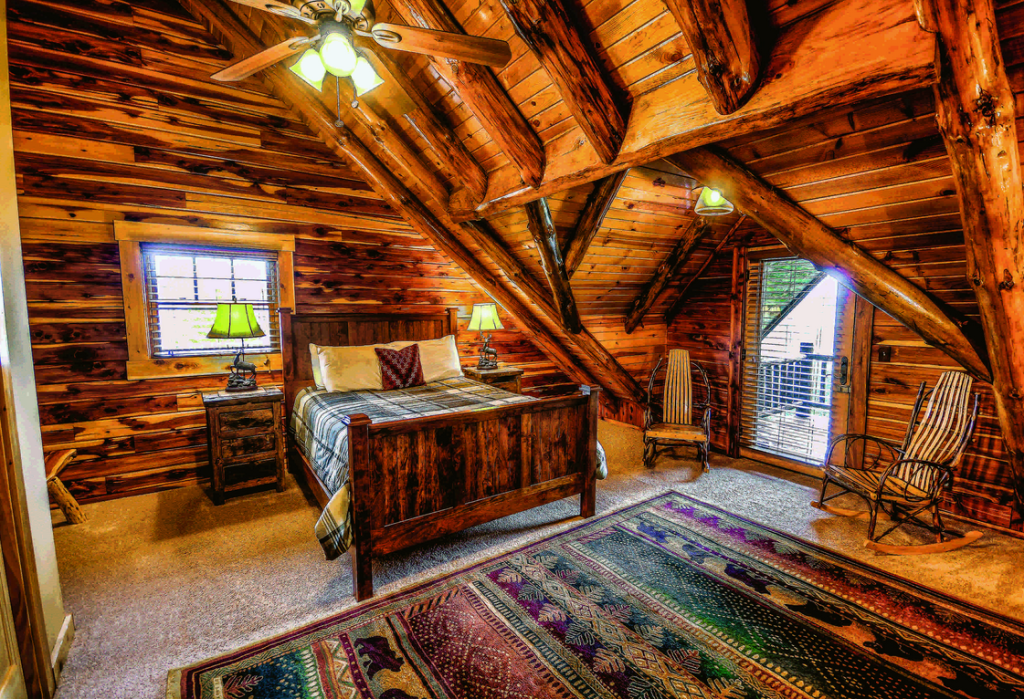 7 Log Home Bedrooms of Your Dreams