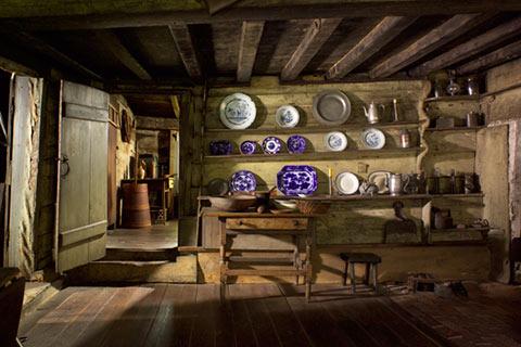 A look inside the kitchen. Photo courtesy of fairbankshouse.org.