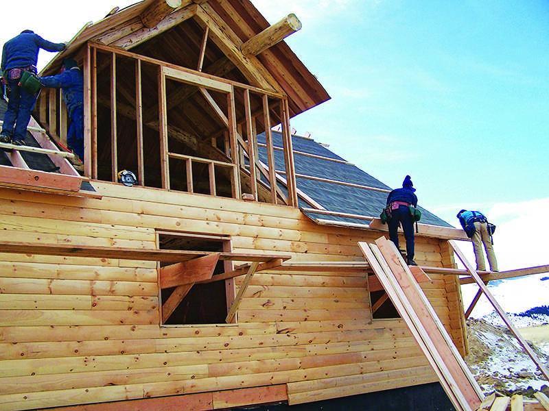log home construction logs building