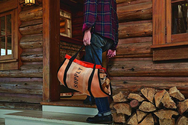firewood log home flannel shirt