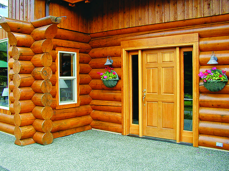 log home maintenance basics